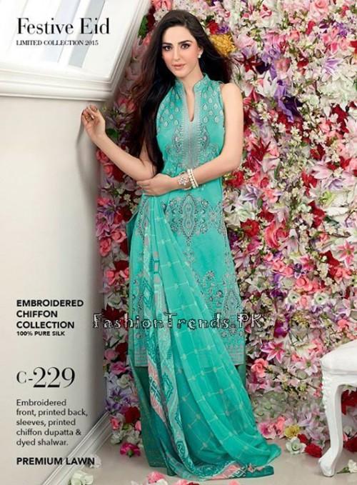 Gul Ahmed Festive Eid Collection 2015 (2)