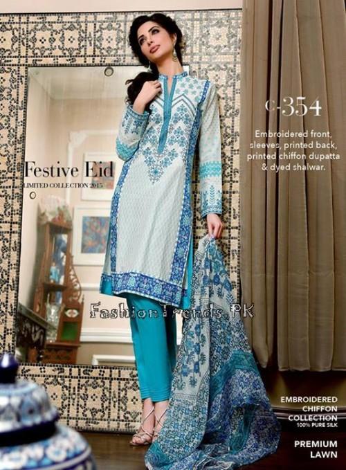 Gul Ahmed Festive Eid Collection 2015 (4)