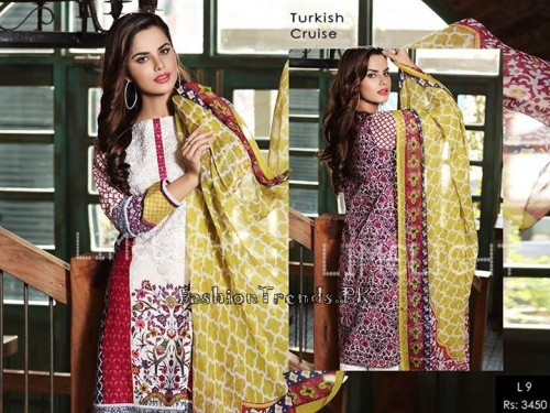 Limelight Eid Dresses Collection 2015 (2)
