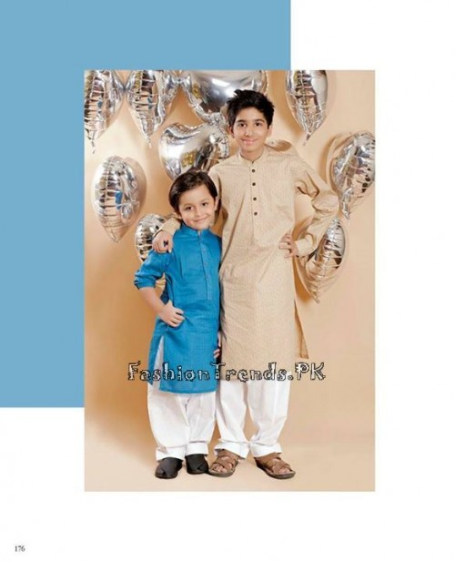 Naqsh By Nishat Linen Eid Collection 2015 For Kids (13)