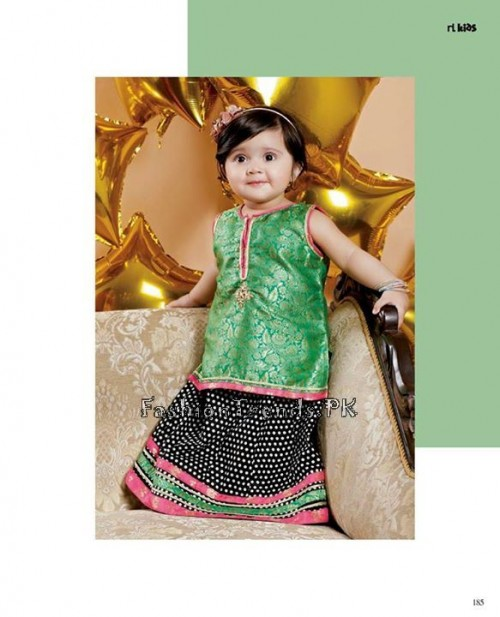 Naqsh By Nishat Linen Eid Collection 2015 For Kids (14)