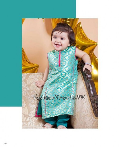 Naqsh By Nishat Linen Eid Collection 2015 For Kids (17)