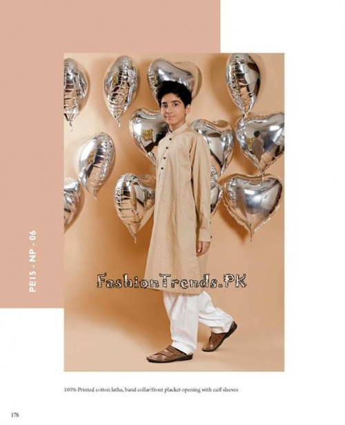 Naqsh By Nishat Linen Eid Collection 2015 For Kids (5)