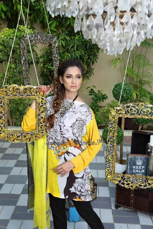 Nida Khurram Summer Pret Collection 2015 (1)