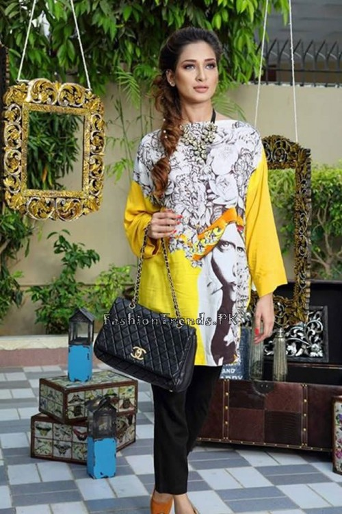 Nida Khurram Summer Pret Collection 2015 (2)
