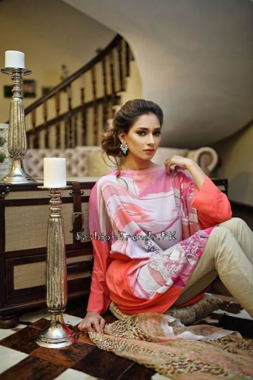 Nida Khurram Summer Pret Collection 2015 (3)