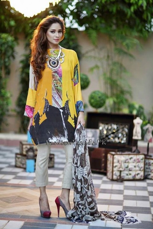 Nida Khurram Summer Pret Collection 2015 (5)