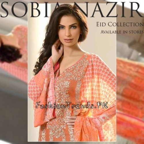 Sobia Nazir Eid Collection 2015 (1)