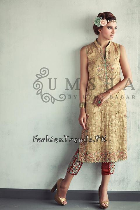Umsha By Uzma Babar Eid Collection 2015 (1)