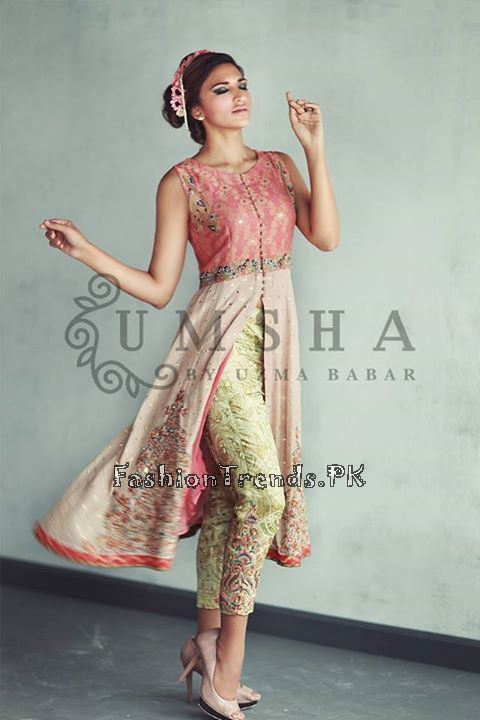 Umsha By Uzma Babar Eid Collection 2015 (2)