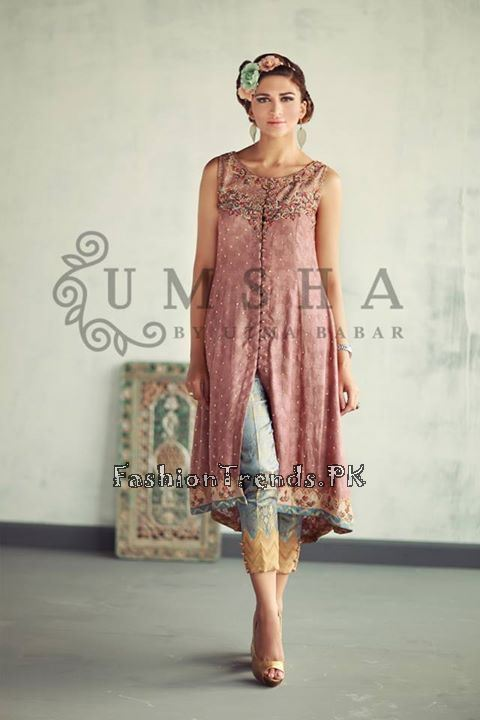 Umsha By Uzma Babar Eid Collection 2015 (3)