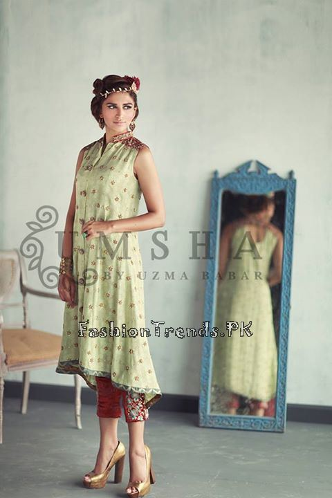 Umsha By Uzma Babar Eid Collection 2015 (4)