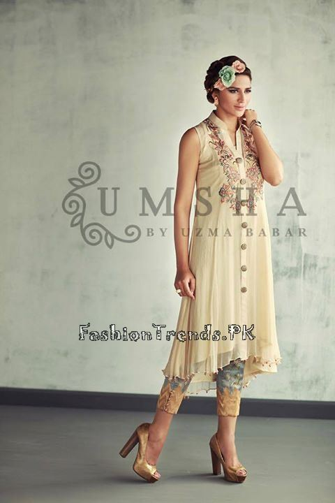 Umsha By Uzma Babar Eid Collection 2015 (5)