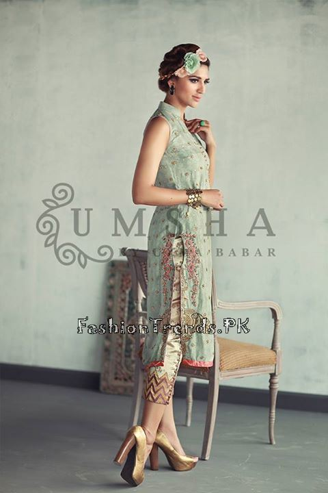 Umsha By Uzma Babar Eid Collection 2015 (6)