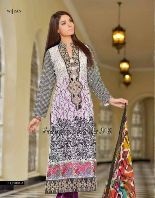 Wijdan Summer Collection 2015 Vol 2 by Salam Textile (1)