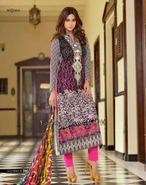 Wijdan Summer Collection 2015 Vol 2 by Salam Textile (2)