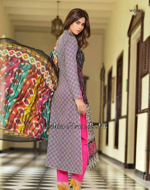 Wijdan Summer Collection 2015 Vol 2 by Salam Textile (3)