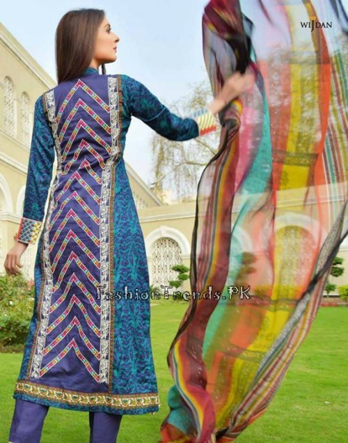 Wijdan Summer Collection 2015 Vol 2 by Salam Textile (9)
