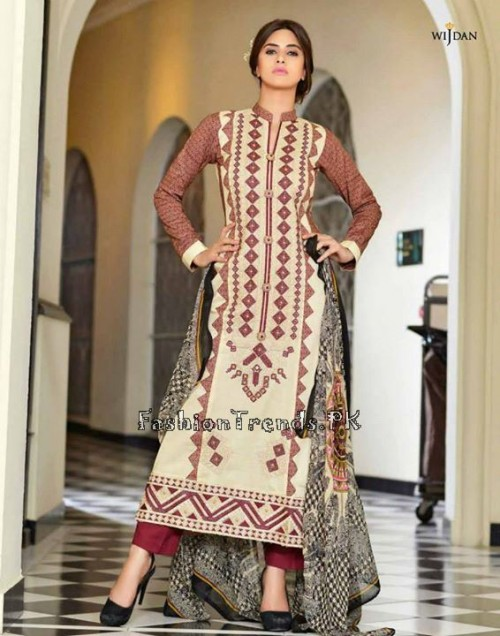Wijdan Summer Collection 2015 Vol 2 by Salam Textile (14)