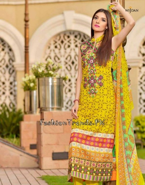 Wijdan Summer Collection 2015 Vol 2 by Salam Textile (16)