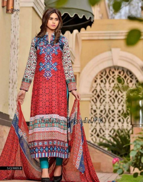 Wijdan Summer Collection 2015 Vol 2 by Salam Textile (18)