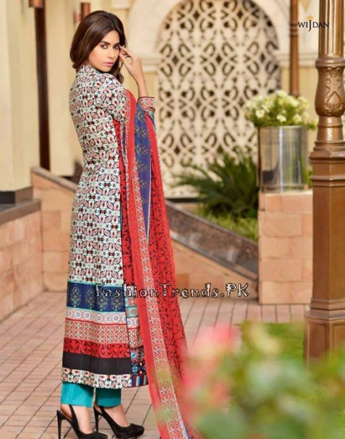 Wijdan Summer Collection 2015 Vol 2 by Salam Textile (19)
