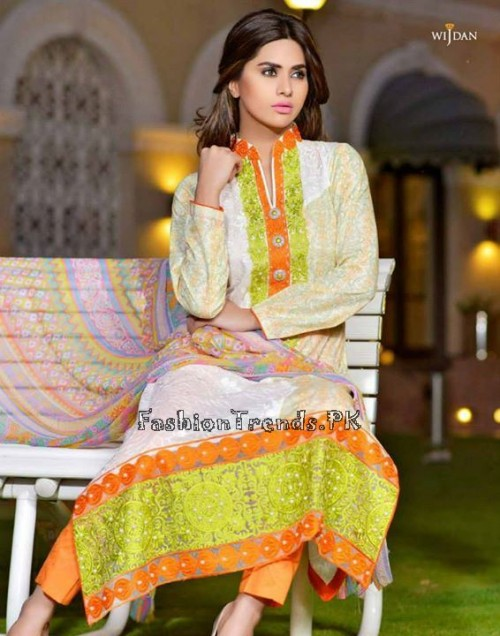 Wijdan Summer Collection 2015 Vol 2 by Salam Textile (22)