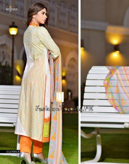 Wijdan Summer Collection 2015 Vol 2 by Salam Textile (23)