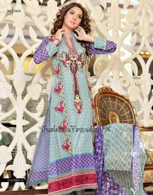 Wijdan Summer Collection 2015 Vol 2 by Salam Textile (24)