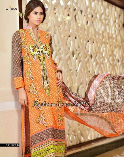 Wijdan Summer Collection 2015 Vol 2 by Salam Textile (26)