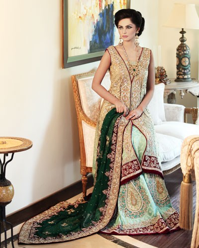 Bridal Dresses By Rani Emaan 2015 For Girls