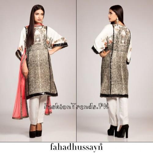 Fahad Hussayn Eid Dresses 2015 For Women (2)