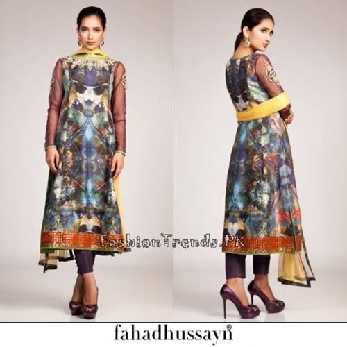 Fahad Hussayn Eid Dresses 2015 For Women (3)