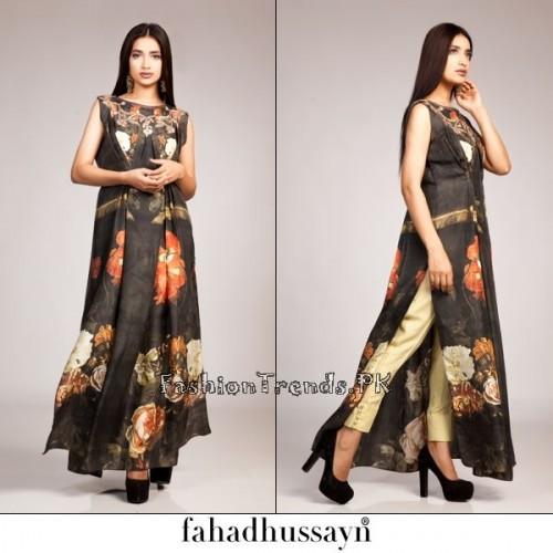 Fahad Hussayn Eid Dresses 2015 For Women (4)