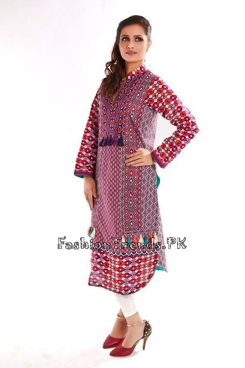 Firdous Ready to Wear Eid Collection 2015 (11)