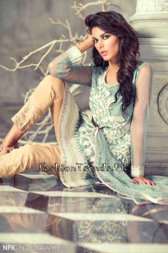 Gul Ahmed G- Pret Collection 2015 (1)