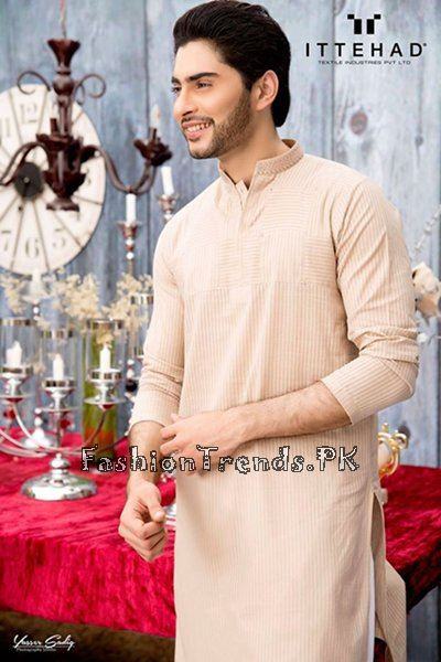 Ittehad Textiles Eid Collection 2015 For Men (2)