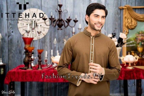 Ittehad Textiles Eid Collection 2015 For Men (3)
