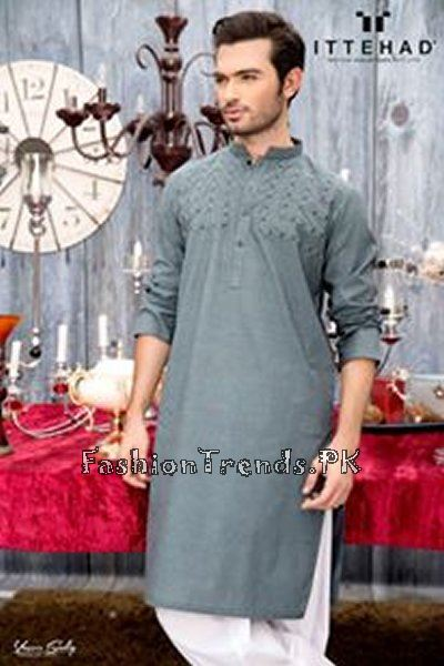 Ittehad Textiles Eid Collection 2015 For Men (5)