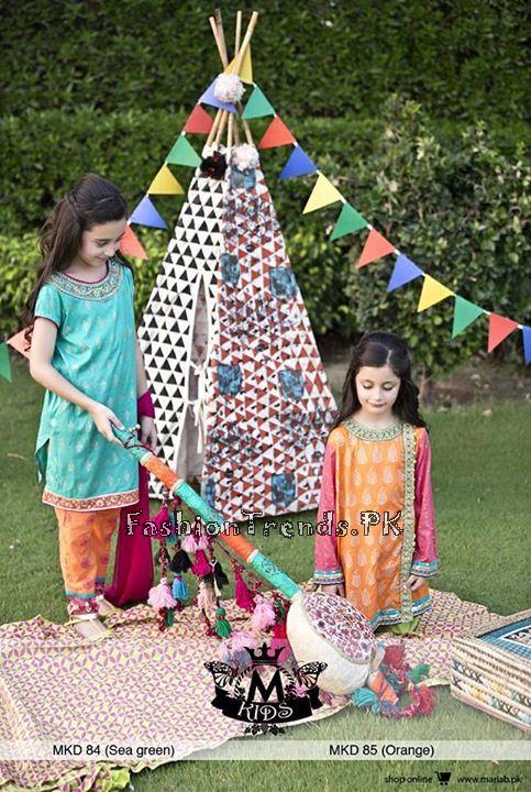Maria B Kids Eid Collection 2015 (1)