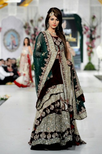 Bridal Dresses By Rani Emaan 2015 For Girls Picture