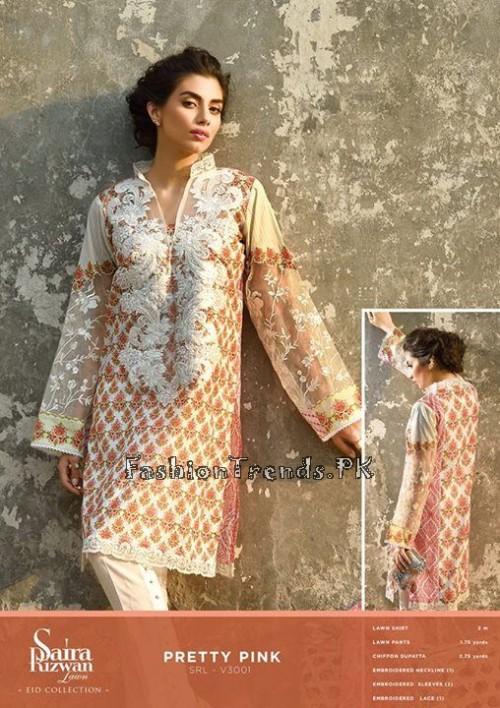Saira Rizwan Eid Lawn Dresses 2015 (1)