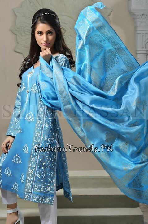 Shirin Hassan Eid Dresses 2015 for Girls (1)