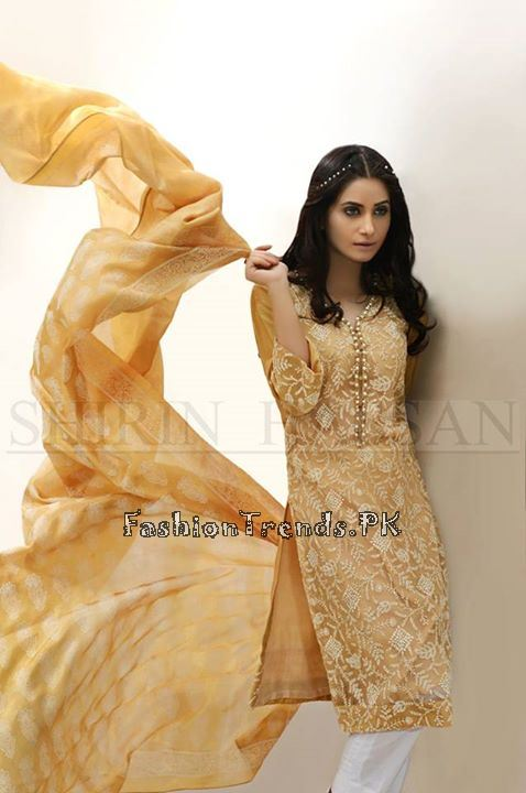 Shirin Hassan Eid Dresses 2015 for Girls (2)