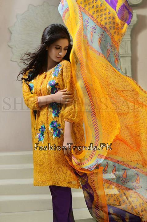 Shirin Hassan Eid Dresses 2015 for Girls (3)