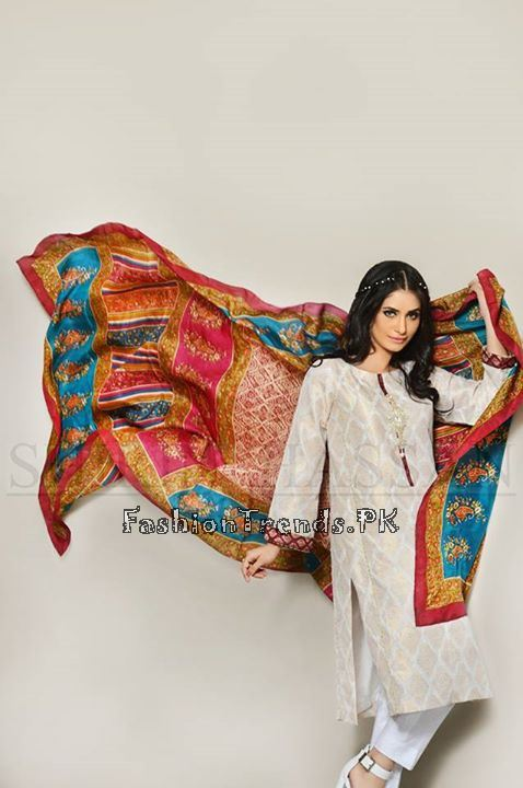 Shirin Hassan Eid Dresses 2015 for Girls (4)