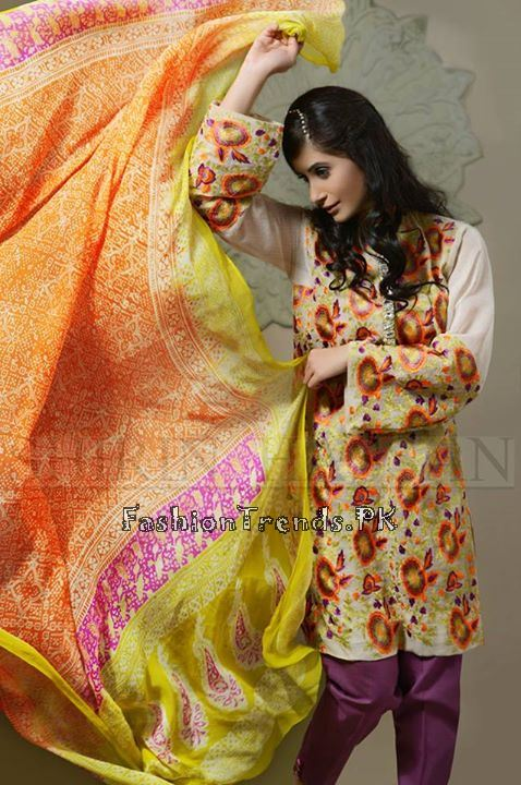 Shirin Hassan Eid Dresses 2015 for Girls (5)