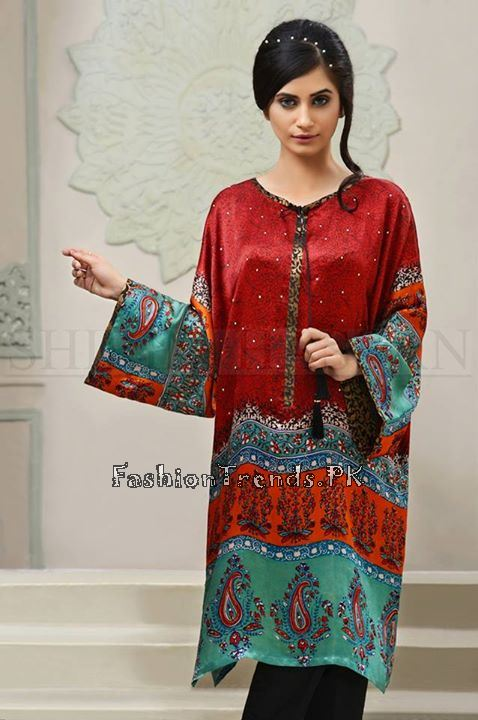 Shirin Hassan Eid Dresses 2015 for Girls (6)
