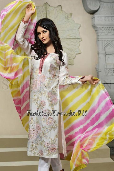 Shirin Hassan Eid Dresses 2015 for Girls (7)