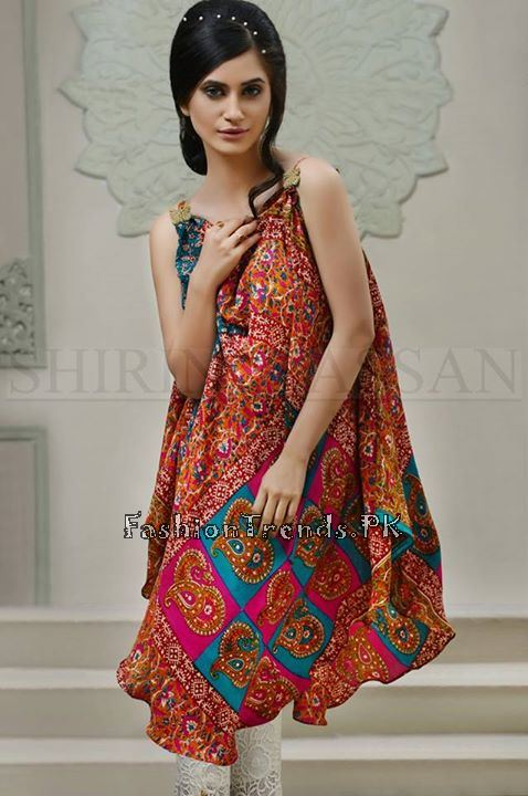 Shirin Hassan Eid Dresses 2015 for Girls (8)